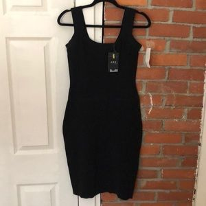 ABS Black Dress